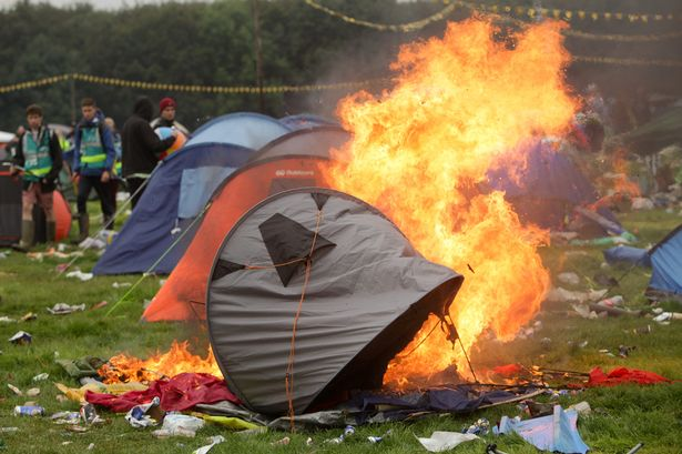 Tent On Fire & 10 Festival Camping Setups You Wish Were Yours | F4L
